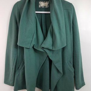 Saturday Sunday Shawled Vivie Cardigan Wrap Sz S